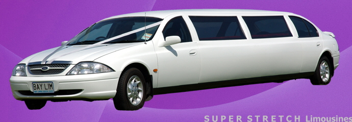 Super stretch Limousine from Bay Limos